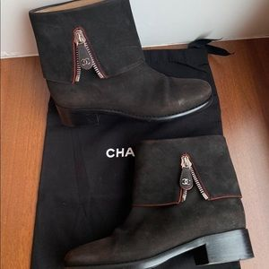 Chanel booties size 38